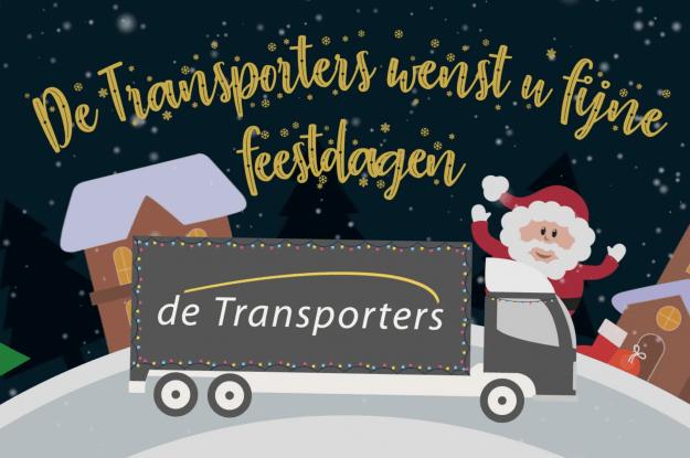 De transporters wenst u fijne feestdagen