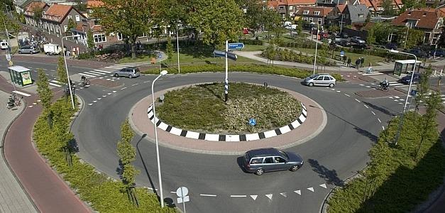 Kruispunten maken plaats voor rotondes