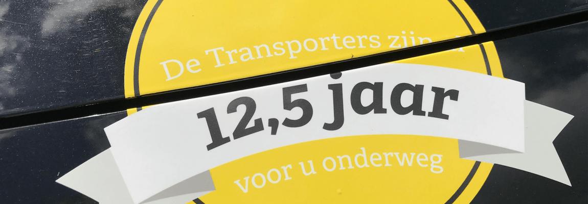 De Transporters bestaat 12,5 jaar